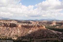 View from Tsankawi Ruins