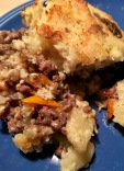 Lazy man's cottage pie