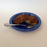 Sautéed salmon cakes