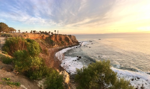Point Vicente at sunset