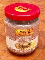 Salted, fermented shrimp paste
