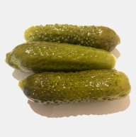Small dill pickles